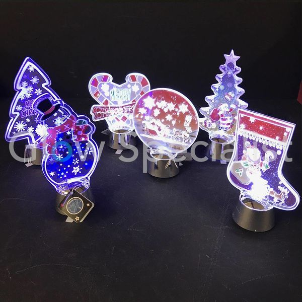 LED CHRISTMAS DECORATION WITH ANIMATION - ASSORTMENT