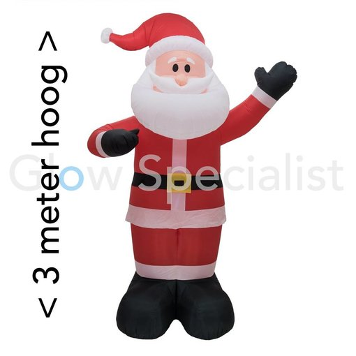 Europalms INFLATABLE FIGURE GIANT SANTA CLAUS WITH LED - 300 CM