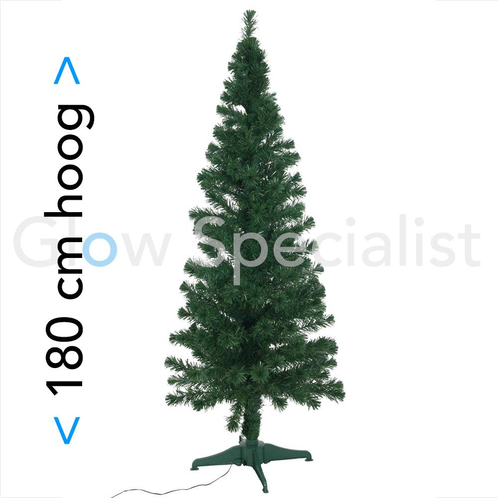 FIBER LED CHRISTMAS TREE - COLOR CHANGING - 180CM - Glow Specialist ...