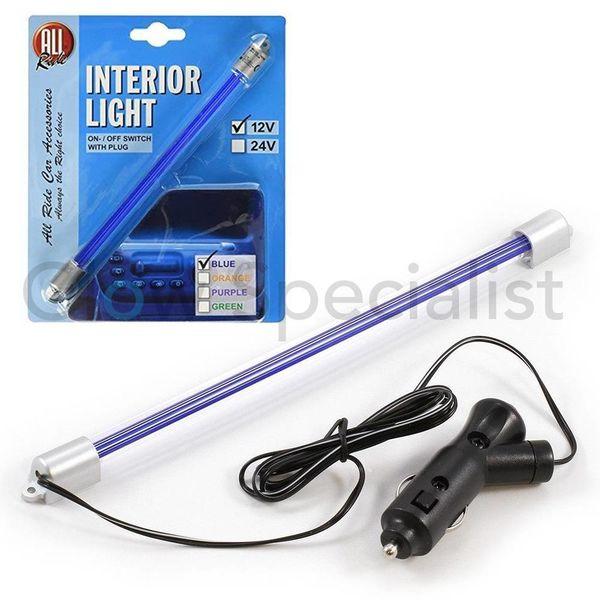 NEON BLUE LIGHTING FOR IN THE CAR - 12V