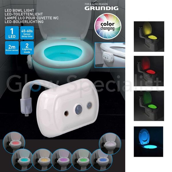 GRUNDIG LED TOILETVERLICHTING -  WC-POT VERLICHTING - COLOR CHANGING