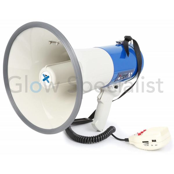 MEGAPHONE 60W - WITH SIREN AND MP3 PLAYER