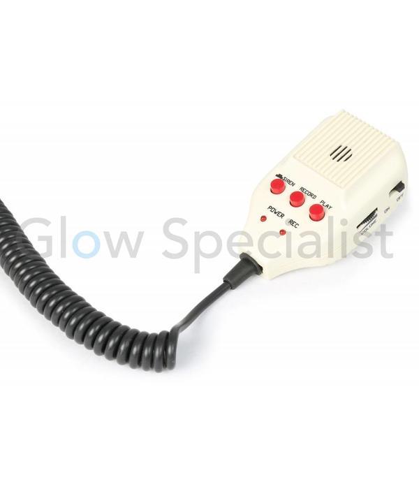 Vonyx MEGAFOON 60W -  MET SIRENE EN MP3 SPELER EN SD/USB