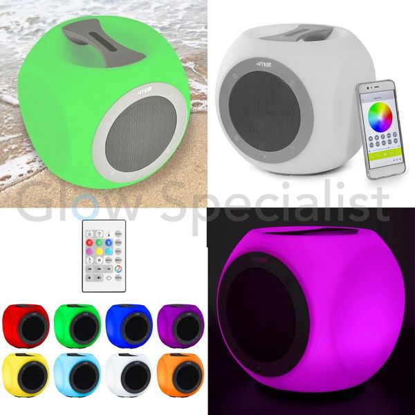 DRAAGBARE COLOR CHANGING BLUETOOTH SPEAKER