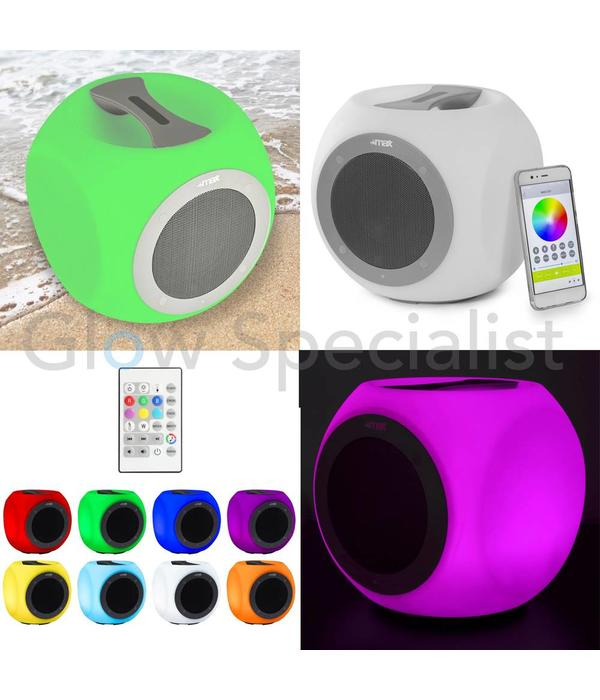 MAX CX9 PORTABLE COLOR CHANGING WIRELESS BLUETOOTH SPEAKER