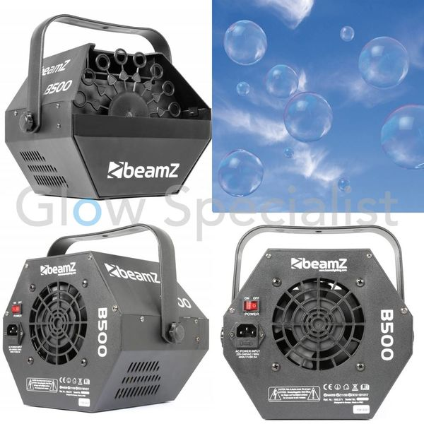 BEAMZ BUBBLE MACHINE B500