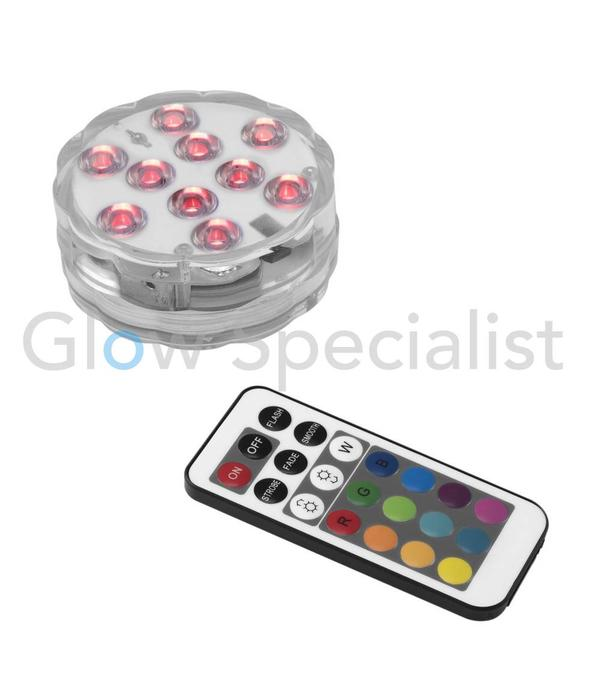 - Eurolite EUROLITE LED MOOD LIGHT MULTICOLOR IP68 COLOR CHANGING MET AFSTANDSBEDIENING