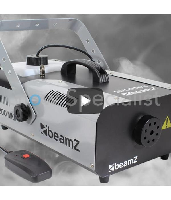 BeamZ BEAMZ S1200 MKII ROOKMACHINE MET TIMER AFSTANDSBEDIENING