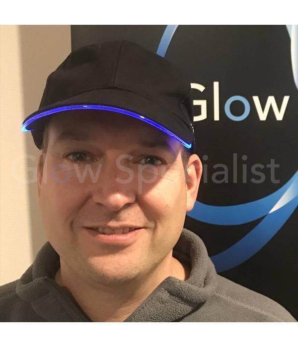 Illuminated Apparel  LED LIGHT UP BASEBALL CAP - BLUE