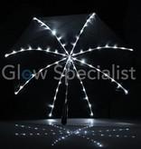LED PARAPLU - ZWART MET 64 LED'S
