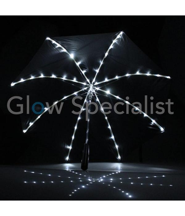 LED UMBRELLA BLACK WITH 64 LED