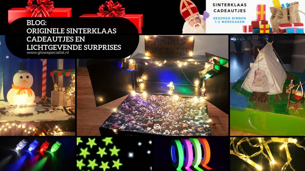 Originele Sinterklaas cadeautjes en lichtgevende surprises