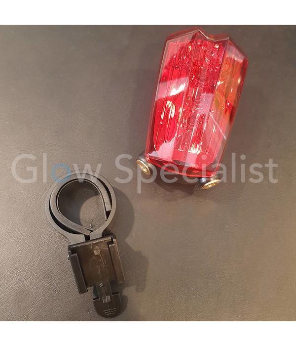 FIETS ACHTERLICHT - 5 LED MET LASER