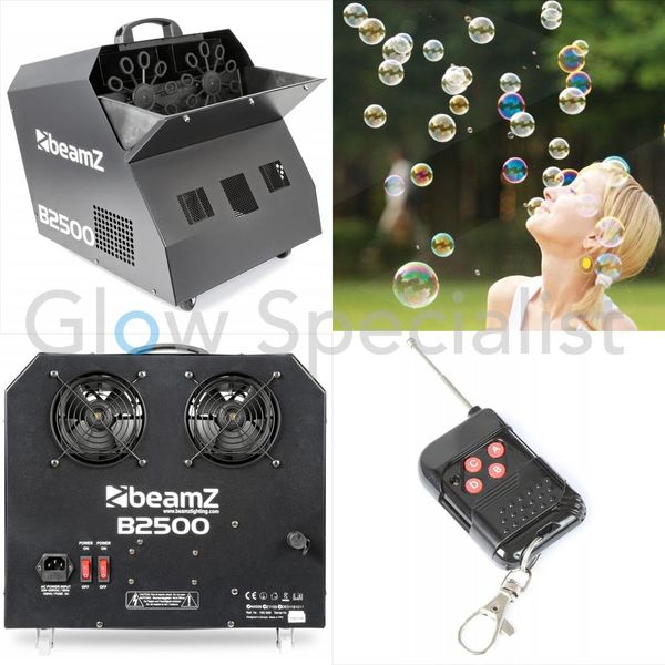 BEAMZ B2500 DOUBLE BUBBLE MACHINE