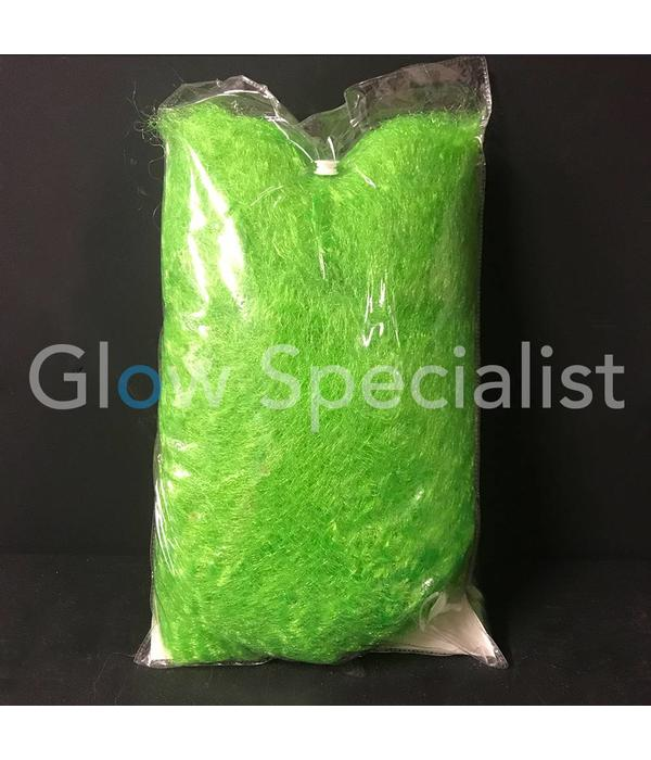 NEON GREEN AFRO WIG