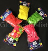 UV LATEX BALLOONS - NEON RED - 100 PIECES