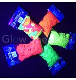 UV LATEX BALLOONS - NEON PINK - 100 PIECES