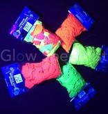 UV LATEX BALLOONS - NEON GREEN - 100 PIECES