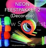 NEON FEESTPAKKET 2 (DECORATIE)