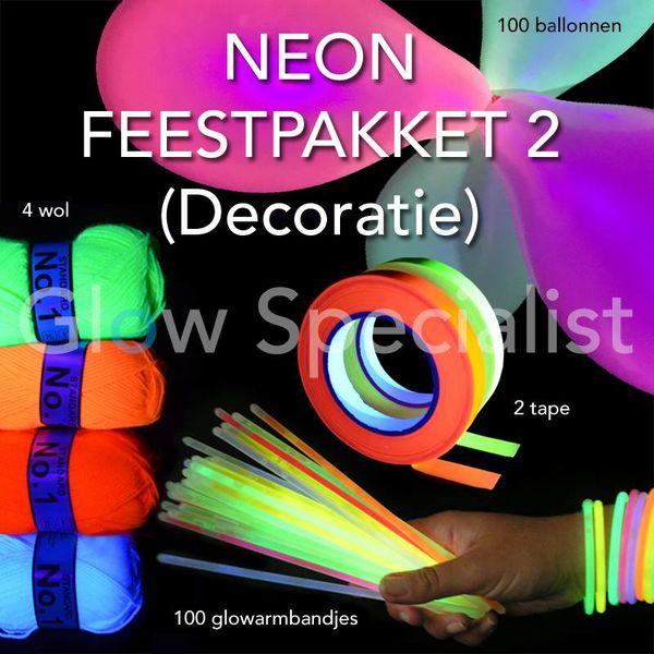 NEON PARTY PACKAGE 2 (DECORATION)