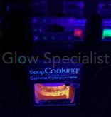 ScrapCooking UV/BLACKLIGHT FOOD COLORING POWDER - NEON ORANGE