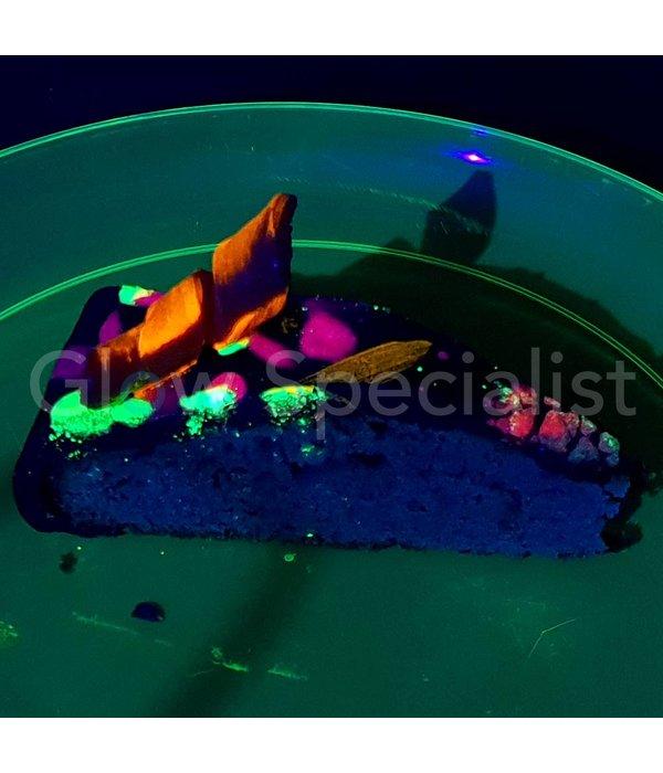 ScrapCooking UV/BLACKLIGHT EETBAAR KLEURPOEDER - NEON ORANJE