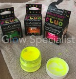ScrapCooking UV/BLACKLIGHT SCRAPCOOKING FOOD COLORING POWDER - NEON CORAL