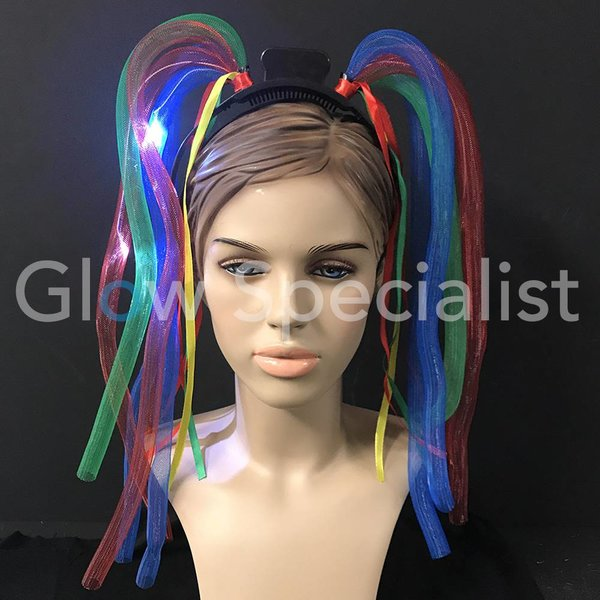 LED CRAZY HAIR DIADEME
