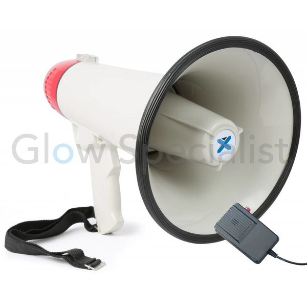 MEG040 - MEGAPHONE 40W -  RECORD FUNCTION AND SIREN