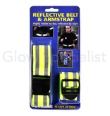 Lifetime NEON YELLOW REFLECTIVE BELT AND ARMSTRAP