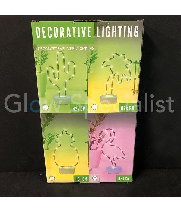 LED SLANGVERLICHTING - 27 CM - CACTUS