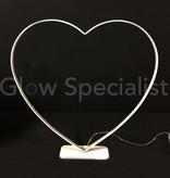 HEART SHAPED LED LIGHTING - 31 CM - 30 LED WARM WHITE