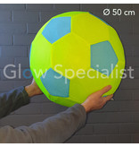 NEON INFLATABLE SOCCER BALL - Ø 50 CM