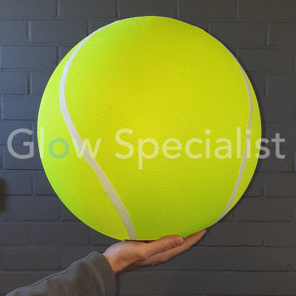 NEON YELLOW INFLATABLE TENNIS BALL - Ø 40 CM