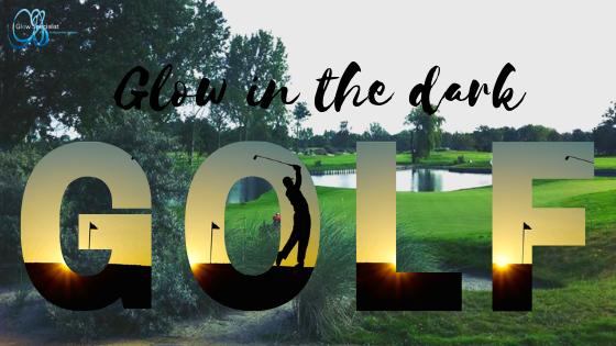 Glow-in-the-dark golfwedstrijd op Golf Groendael