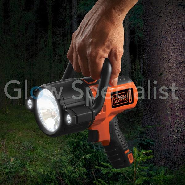 BLACK & DECKER SLV2B LED RECHARGEABLE SPOTLIGHT 750 LUMEN