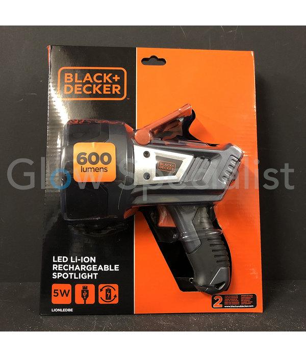 Black & Decker BLACK & DECKER LED LI-ION OPLAADBARE WZAKLAMP - 600 LUMEN