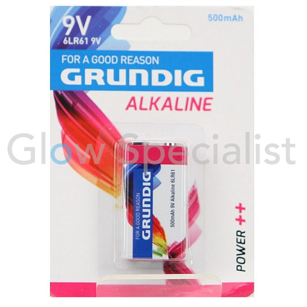 GRUNDIG 9V ALKALINE BATTERY - 6LR61