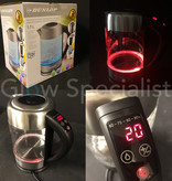 Dunlop DUNLOP LED WATER KETTLE - WITH TEMPERATURE CONTROL