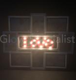 LED FOTOLIJST LOVE VOOR 8 FOTO'S - 43 x 56 CM - 15 LED