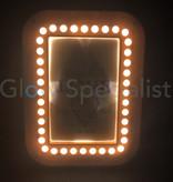 LED FOTOLIJST - 20,5 x 15,5 CM - WIT - 35 LED