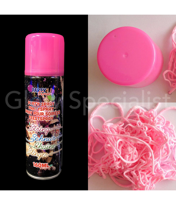 NEON PARTY STRING SPRAY - 160 ML - 6 COLORS