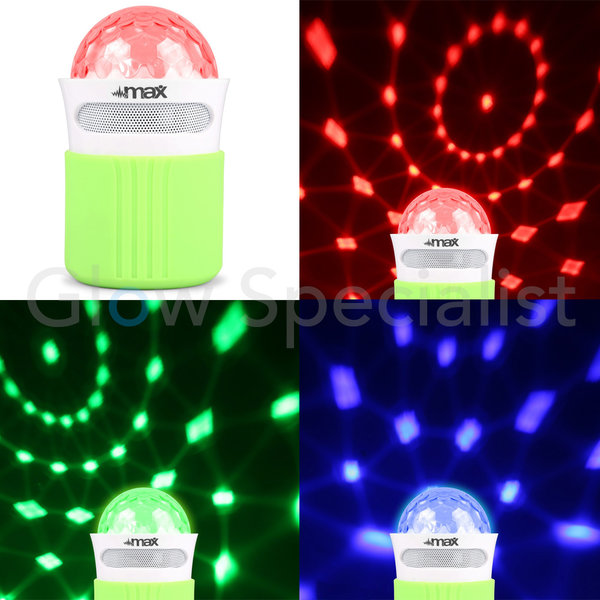 MX2 DISCO LED LIGHT BLUETOOTH SPEAKER