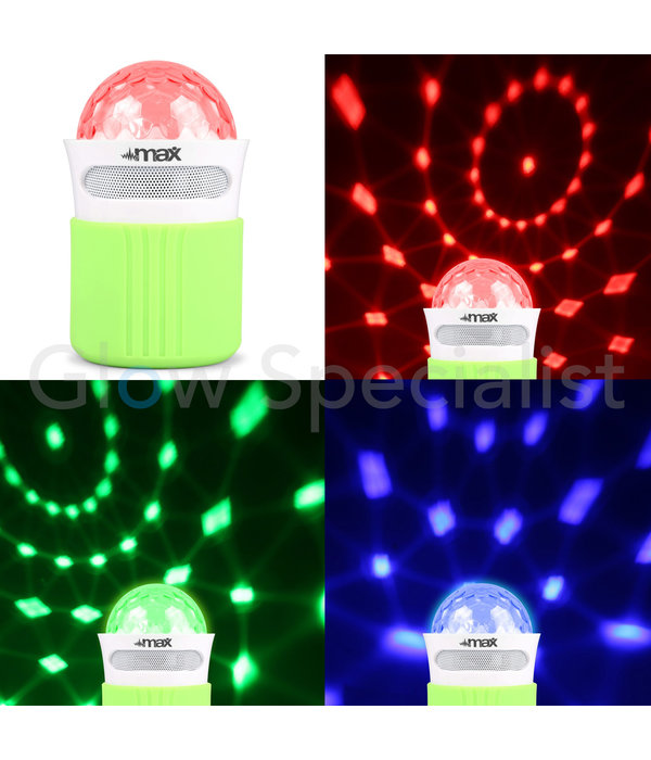 MX2 DISCO LED LIGHT BLUETOOTH SPEAKER JELLYBALL