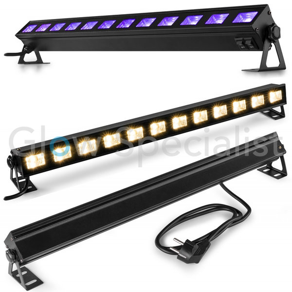 UV 2-IN-1 LED BAR - BUVW123 - 12x 3W