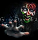 - PaintGlow PAINTGLOW GLOW IN THE DARK LIQUID LATEX HORROR - SET VAN 3