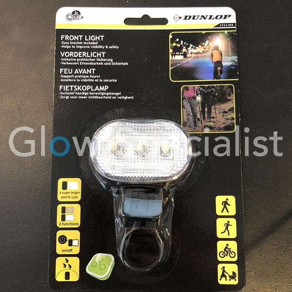 DUNLOP LED BIKE FRONT LIGHT - 3 LED