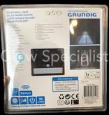 Grundig GRUNDIG SOLAR  MUURLAMP MET SENSOR - 30 LUMEN