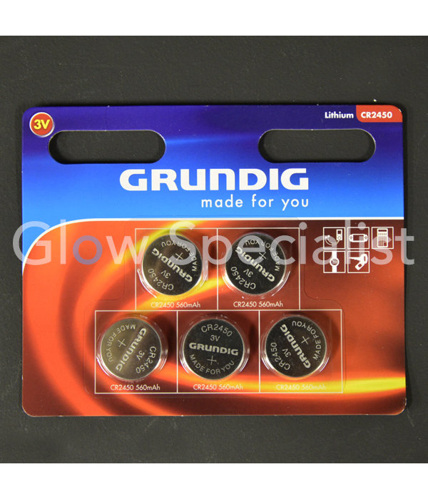 Grundig GRUNDIG CELL BATTERIES - CR2450 - 5 PIECES