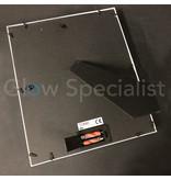 LED PHOTO FRAME - 32.5 x 27.5 CM - WHITE - 12 LED
